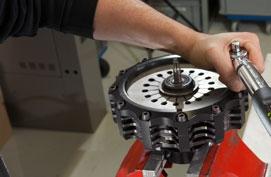 Motoren, reductoren en frequentiesturingen