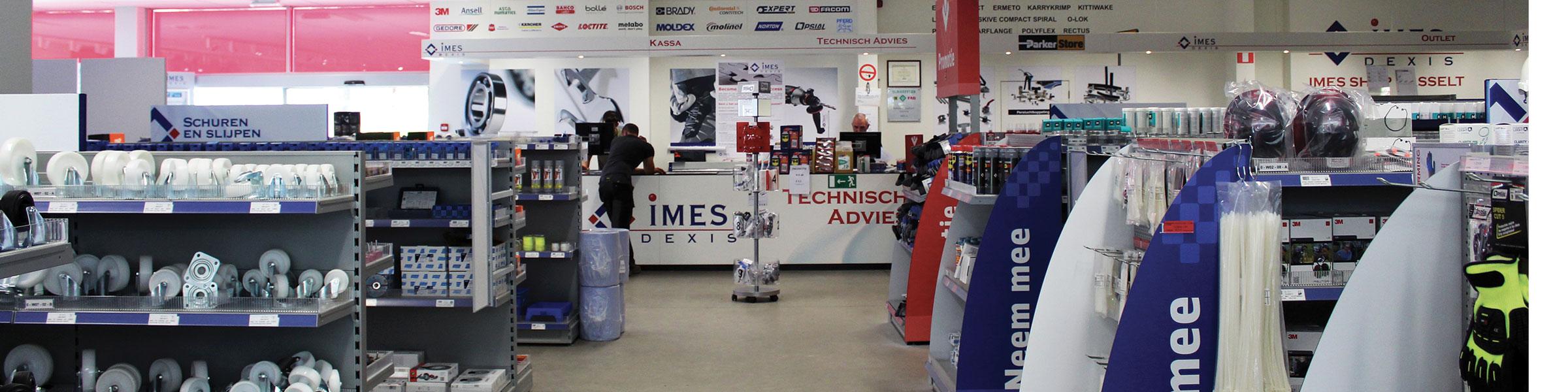 IMES DEXIS Shop Hasselt
