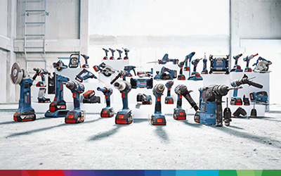 Bosch accu machines